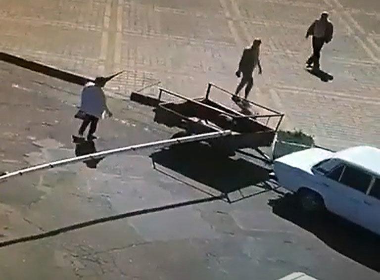 Водитель, авто которого повредило шлагбаум на белореченском автовокзале, арестован , фото-1